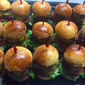 Special Finger Foods Catered at your Brisbane Party - Willes Fine Foods Mini Beef Burgers