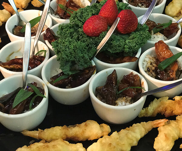 Christmas Catering - Finger Foods by Willes Fine Foods